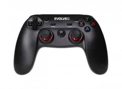 EVOLVEO Fighter F1, bezdrátový gamepad pro PC, PlayStation 3, Android box/smartphone(GFR-F1)