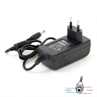 8level DC12V/2A power adapter 5x2.1mm(PA12V2A)